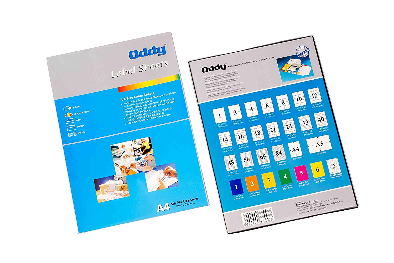 Oddy Label Sheets St 56 A4100 Pack Of 100 Sheets 56 Label Sheet Penpaperoffice
